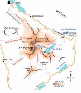 map-snowdon